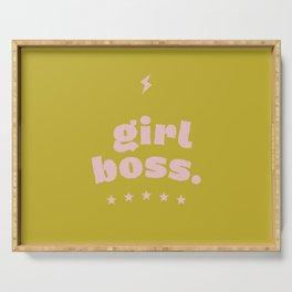 girlboss Serving Tray