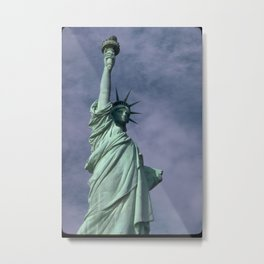 Statue of Liberty Photograph - 4 Metal Print