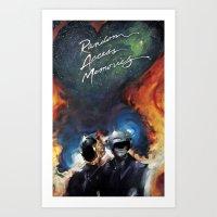 ram Art Prints featuring RAM by KLANG