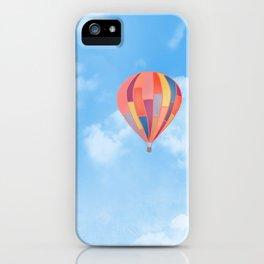Rainbow Hot Air Balloon iPhone Case
