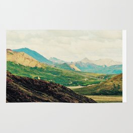 Denali Mountains Rug