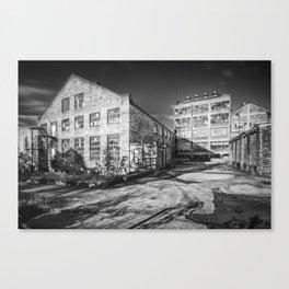 Abandoned Factory Falkland Canvas Print