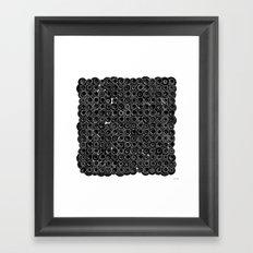 Sound Circles Framed Art Print