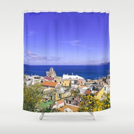 The Pearl Of The Mediterranean Sea Shower Curtain