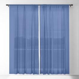 BLUE VIII Sheer Curtain