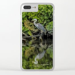 Lesson in Stillness Clear iPhone Case