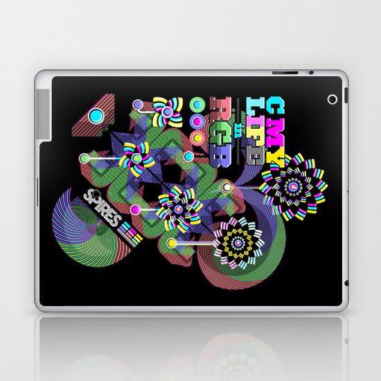 c my life in rgb Laptop & iPad Skin