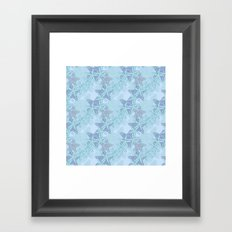 Starfish Seascape Framed Art Print
