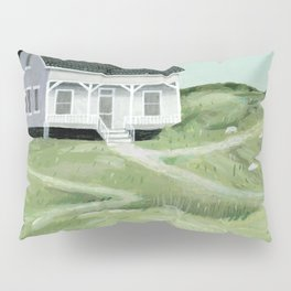 Cottage on the beach Pillow Sham
