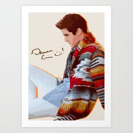 Darren for Hero Art Print