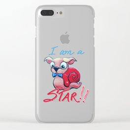 The Star Clear iPhone Case