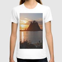 An Amazing Sunset Over First Beach T-shirt