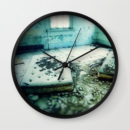Where They Slept Wall Clock