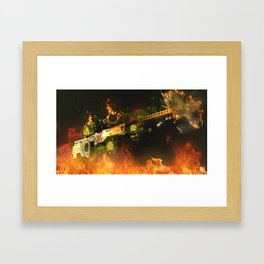 Sniper Rifle 3 Framed Art Print