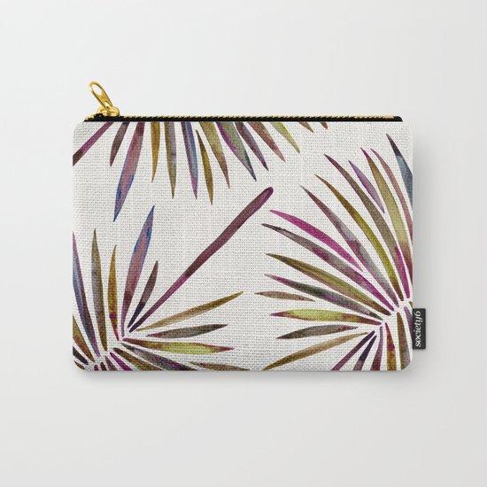 Tropical Fan Palm – Vintage Palette Carry-All Pouch