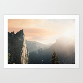 Mountains landscape 4 Art Print