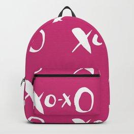 Kisses XOXO Violet Red Backpack