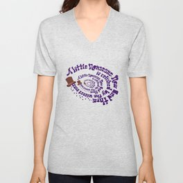 A little nonsense Unisex V-Neck