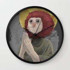 Owl Messiah Wall Clock