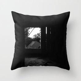 Open way to unconscious Throw Pillow