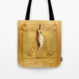 Vitruvio fitness Tote Bag