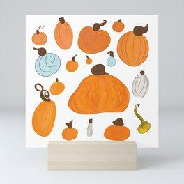 Pumpkin Family Mini Art Print