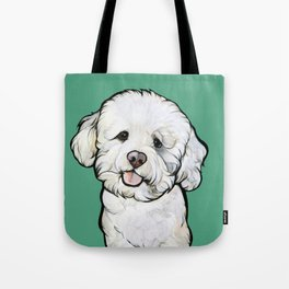 Gracie the Bichon Tote Bag