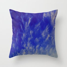 sky pattern Throw Pillow