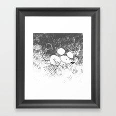 minima - deco mouse Framed Art Print