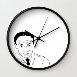 Oh the pain, the pain Wall Clock