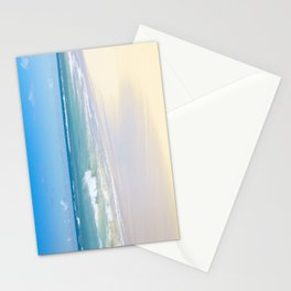 beach bliss Stationery Cards