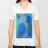 nautical V-neck T-shirts featuring Nautical by JuniqueStudio