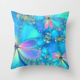 The Fluttering Throw Pillow