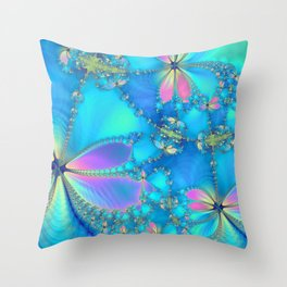The Fluttering Throw Pillow