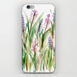 Lavender Watercolor No. 1 iPhone Skin