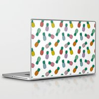 pineapples Laptop & iPad Skins featuring Pineapples by icantdance