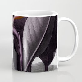 Birds of Paradise : Temple of Flora Dark Coffee Mug