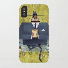Pigeon Attack! Slim Case iPhone X
