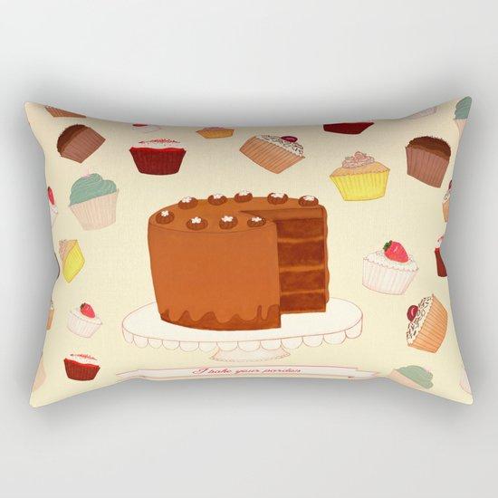 I Bake your Pardon! Rectangular Pillow