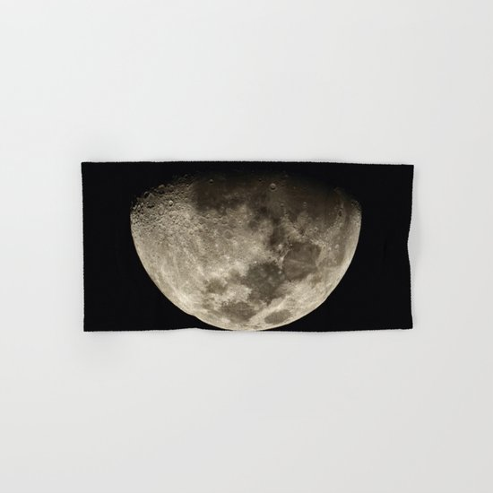 Moon Black 4 Hand & Bath Towel