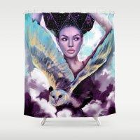 journey Shower Curtains featuring Journey by Slaveika Aladjova