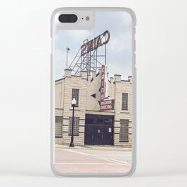 TULSA_1 Clear iPhone Case