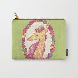 Lovely Giraffe 2 Carry-All Pouch