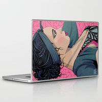 cook Laptop & iPad Skins featuring Hollie Cook by Mamakhol