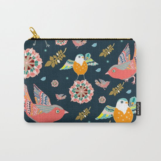 Dancing with flowers Carry-All Pouch