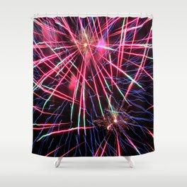 Fireworks Explosion 2 Shower Curtain