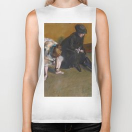 Edgar Degas - Waiting Biker Tank