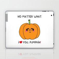 I love you pumpkin Laptop & iPad Skin