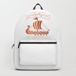 funny viking birthday t shirt for men Backpack