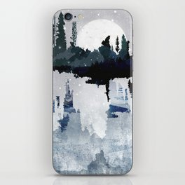 the art of silence II iPhone Skin
